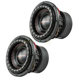 "American Bass 10"" Subwoofers Dual 4 Ohm 2000 Watts Max Car A"