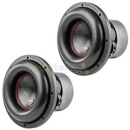 """10"""" Subwoofers Dual 4 Ohm 900 Watts RMS Car Audio Audiopipe"""
