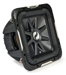 "Kicker 11S15L7D4-N Car Audio Solobaric 15"" L7 Series Dual 4"