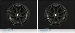KICKER 12 Inch 300 Watt 4-Ohm Car Audio Sub Subwoofer & Box