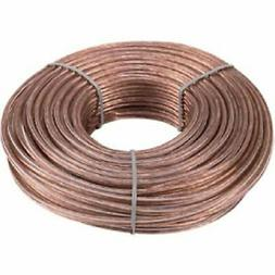18 Gauge 100 Feet 2 Conductor Stranded Speaker Wire For Car