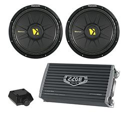 "2) New Kicker 44CWCS104 10"" 1000W Car Audio Power Subwoofers"