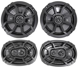 "2) KICKER 43CSC674 6.75"" 600w Car Audio Speakers+2) 43CSC693"