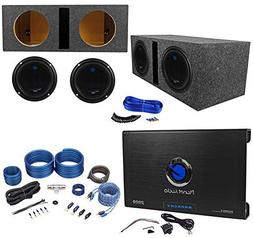 2 ac10d subwoofers vented sub
