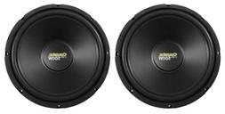 "2) Coustic By MTX C124 12"" 1000 Watt Car Subwoofers, High Pe"