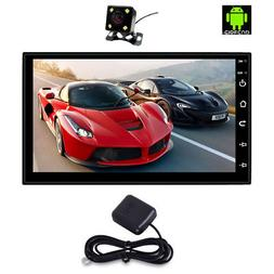 "2 Din Android 8.0 7"" Car Stereo Player GPS Navigation Blueto"