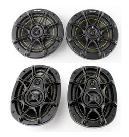 "2) Kicker DS60 6.5"" 200 Watt 2-Way +2) Kicker DS693 6x9"" 280"