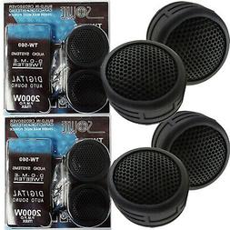 2 PAIR OF MOBILE AUDIO 500W SUPER HIGH FREQUENCY LOUD MINI D