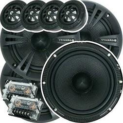 Pairs Cerwin Vega XED650C 6.5-Inch 2-Way Car Audio Componen