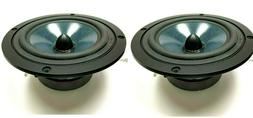 "2pcs Brand NEW CAR AUDIO Clif Designs 6.5"" Midbass Speaker M"