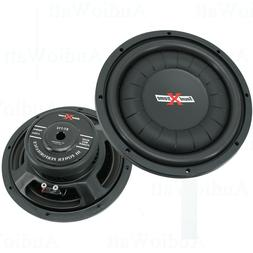 "2x SoundXtreme 12"" 1600W Car Audio Shallow/Slim Subwoofer Po"
