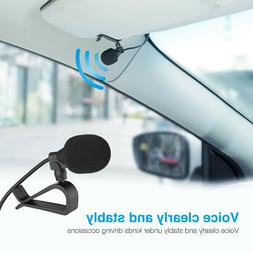 3.5mm Car Radio Stereo Microphone Bluetooth Vehicle External