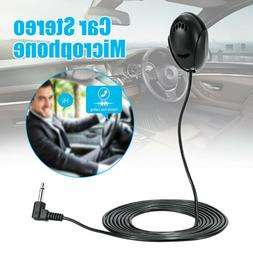 3.5mm Car Stereo Microphone Bluetooth Vehicle External Mic f