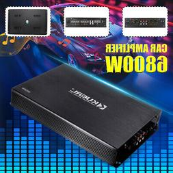 4 Channel 6800W Car Amplifier Power Audio Amp Stereo Super B