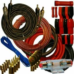 4 Gauge Amplfier Power Kit for Amp Install Wiring Complete R