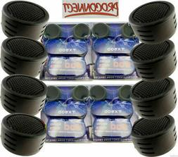 4 Pairs of 1 Inch Car Tweeters Super High Frequency Mini Dom