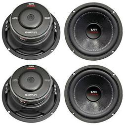 "4) New PYLE PLPW6D 6"" 2400W Car Audio Subwoofers Subs Woofer"