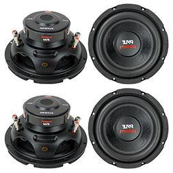 "4) New PYLE PLPW8D 8"" 1600W Car Audio Subwoofers Subs Woofer"