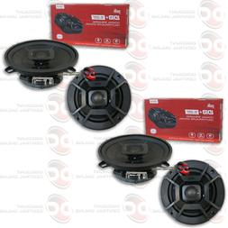 4 x POLK AUDIO 5.25-INCH 2-WAY CAR AUDIO BOAT MARINE COAXIAL