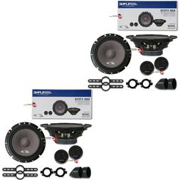 "4 x NEW ALPINE 6.5-INCH 6-1/2"" 2 WAY CAR AUDIO SPEAKERS 560W"