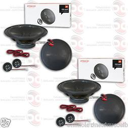 "4 x JBL Stage600C 6.5"" CAR AUDIO 2-WAY COMPONENT SPEAKER SYS"