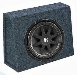 "Kicker 43C104 10"" 300W 4-Ohm Car Audio Subwoofer Sub + Slim"