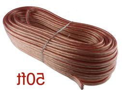 50 FT TRUE High Performance 16 Gauge AWG Speaker Wire for Ca