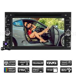 """6.2"""" Touch Screen 2DIN In Dash Car DVD CD Player Radio Stere"""