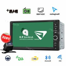 """7"""" Universal Android 8.0 Car GPS Navi Stereo Octa Core 4G WI"""
