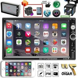 """7"""" Inch 2 DIN Car Stereo Radio HD MP5 FM Player Touch Screen"""