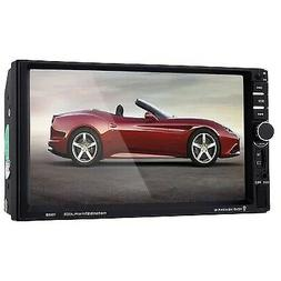 """7060B 7"""" Car Audio Stereo MP5 Player Remote Control Rearview"""