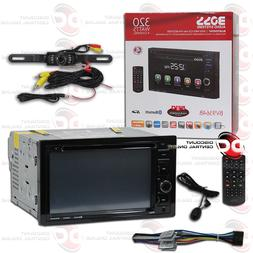 "BOSS BV9364B 2DIN 6.2"" LCD DVD CD BLUETOOTH CAR STEREO FREE"