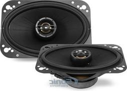 """Polk Audio - 4"""" X 6"""" Coaxial Speakers With Polymer-composite"""
