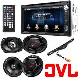 "Soundstream 2 DIN Stereo JVC 6.5"" 300w Car Audio Speakers+ 6"
