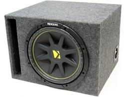 """ASC Package Single 12"""" Kicker Sub Box Vented Port Subwoofer"""