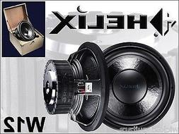 "HELIX AUDIO W12 Subwoofer 12"" NEW Competition Car Audio Spea"