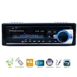 Bluetooth Car Stereo FM AUX Input Receiver SD USB MP3 Radio