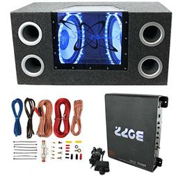"Pyramid BNPS122 12""1200W Car Audio Subwoofer + Box + 1100W M"
