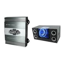 "Pyramid New BNPS122 12"" 1200W Car Audio Sub Box Subwoofer Ba"