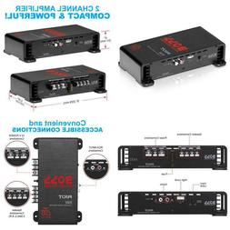 Boss Audio R1002 Car Amplifier – 2 Channel, 200 Watts Max