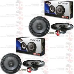 "NEW 4 x KENWOOD 6.5-INCH 6-1/2"" 2-WAY CAR AUDIO COAXIAL SPEA"