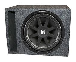 "Kicker C104 10"" 4-Ohm Car Audio Subwoofer Sub + Single Vente"