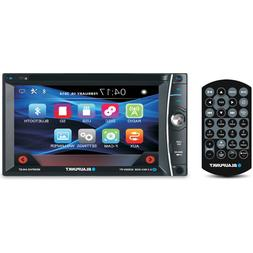 "BLAUPUNKT CAR AUDIO DOUBLE DIN 6.2"" TOUCHSCREEN LCD DVD CD M"