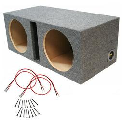 car audio dual 12 inch vented subwoofer