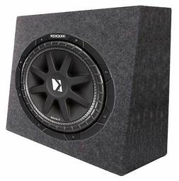 "New Kicker Car Audio 12"" Loaded Custom Truck Sub Box Enclosu"