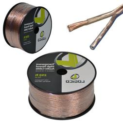 12/2 250FT 12AWG GAUGE 2 CONDUCTOR TRANSPARENT HIGH STRAND S