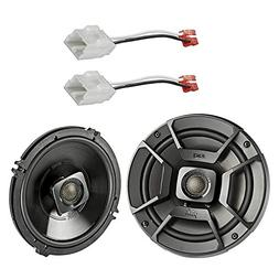 "2x Polk Audio 6.5"" 300W 2 Way Car/Marine ATV Stereo Coaxial"