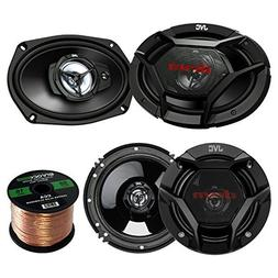 "Car Speaker Package Of 2x JVC CS-DR6930 6x9"" 500 Watt 3Way V"
