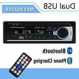 Car Stereo Single Din USB TF AUX Radio Receiver Audio Blueto