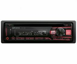 Alpine CDE-170, Single-DIN CD Car Stereo w/ USB & Auxiliary